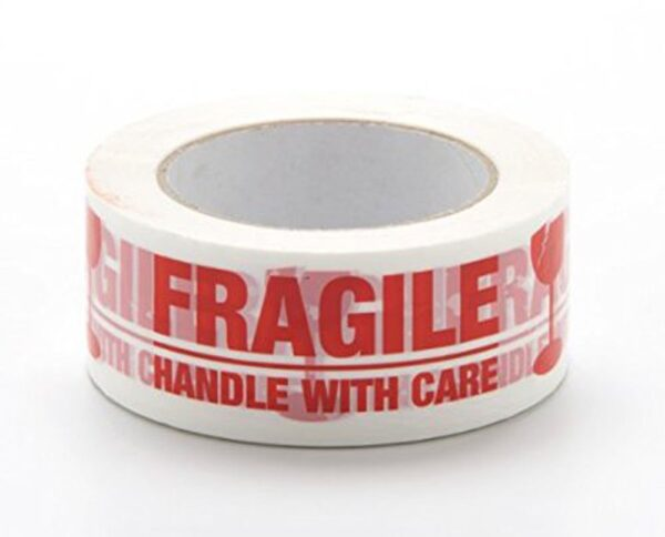 Handle with Care Fragile Tape